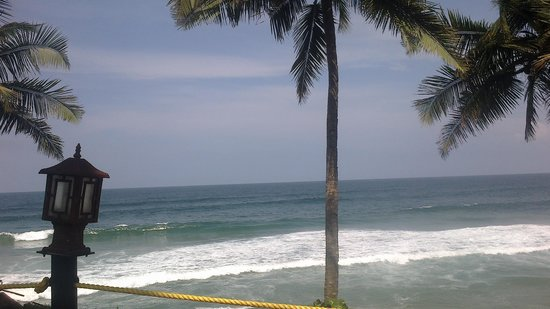 Krishnatheeram Ayur Holy Beach Resort: view from the resort