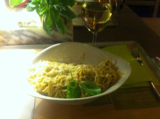 Vapiano: моя паста карбонара =)
