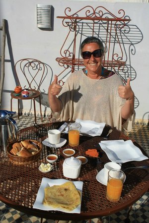 Riad Orange Cannelle : Petit déje