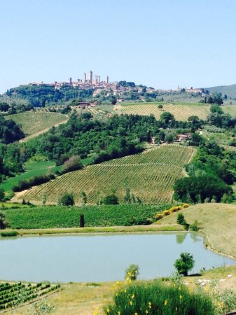 Fun in Tuscany: Our first stop!