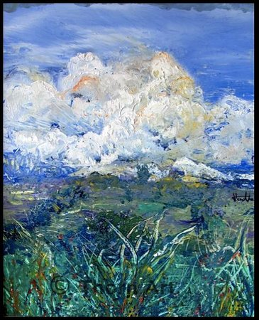 The WhiteHouse Gallery and Wine Bar: Cloudscape  - By Thorn - wwwthewhitehouse.gallery