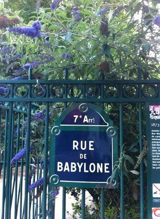 Welcome Hotel: rue de babylon