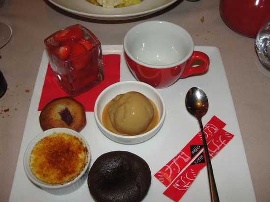 Le Café Rouge : Thé gourmand