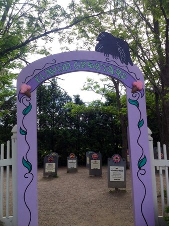 Ben & Jerry's : Flavor Graveyard entrance