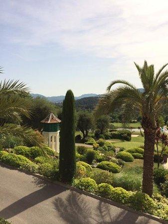 Royal Mougins Hotel : Vu de la terrasse