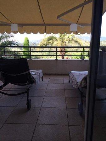 Royal Mougins Hotel : Terrasse