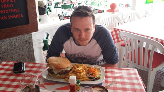 Liberty's American Diner: Yet another Pounder Challenge !