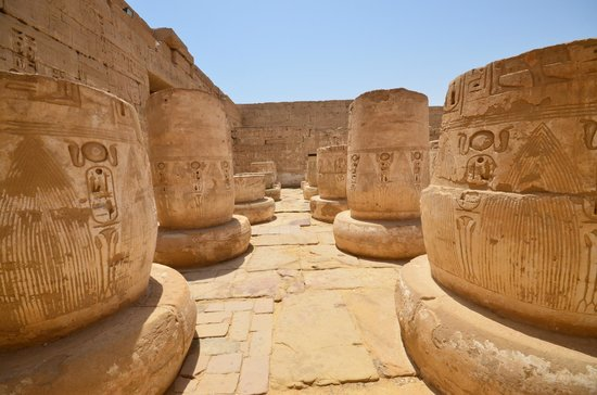 Temple of Medinat Habu: pylone