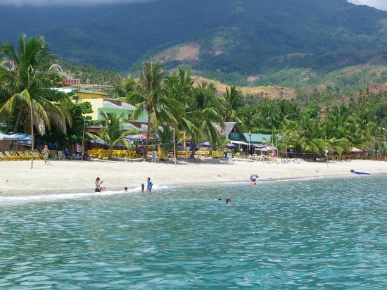 White Beach: This welcomes you to Puerto Galera