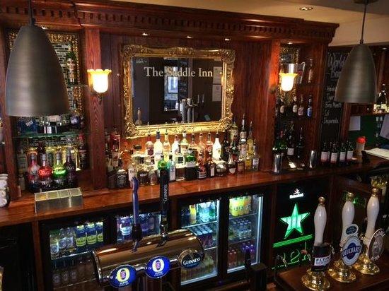 The Saddle Inn: bar