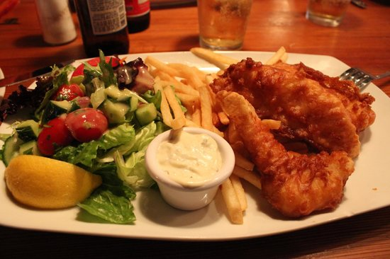 Commodore Waterfront Restaurant: Fish&chips