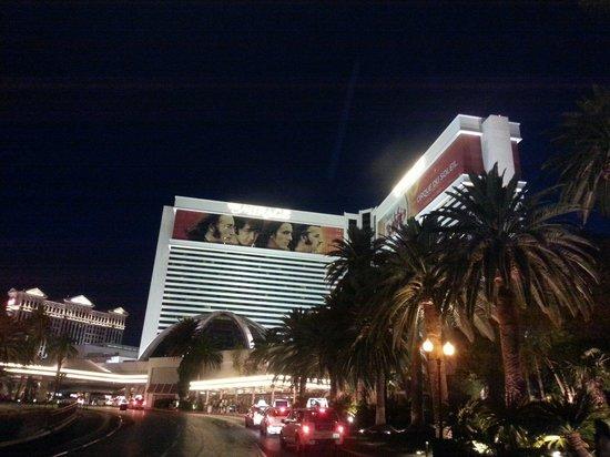 The Mirage Hotel & Casino : Hermosa vista