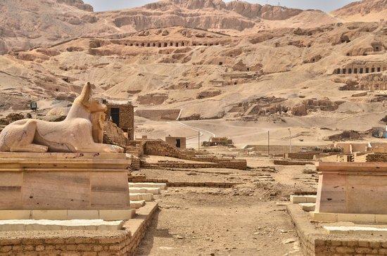 Ramesseum (Mortuary Temple of Ramses II): ENTREE  Ramesseum