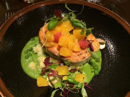 Petrichor at the Cavendish London: Salmon main