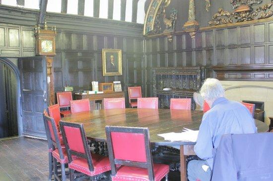 Chetham's Library: читальный зал