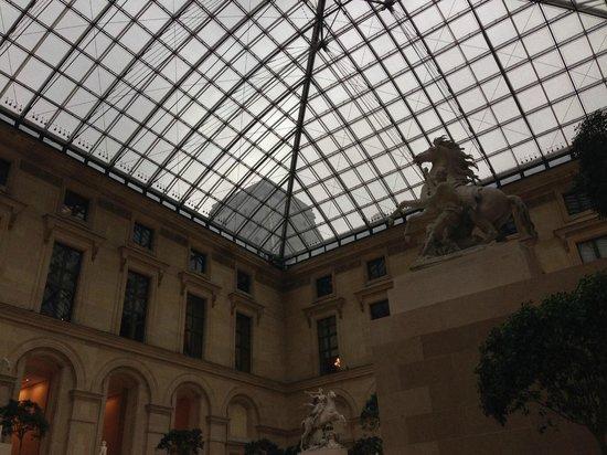 Louvre Museum: 内部