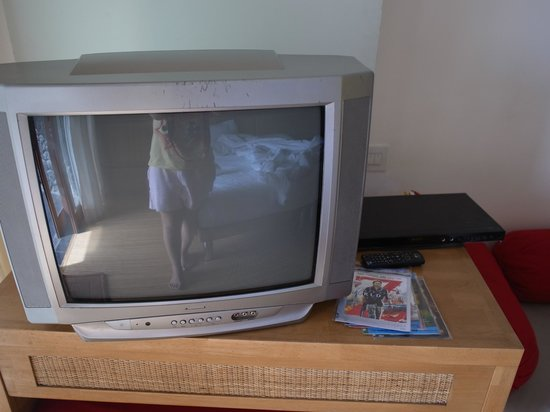 Lakeview Ecolodge : Only CRT TV in the room