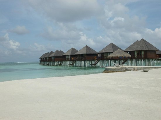 Olhuveli Beach & Spa Maldives: View from the beach