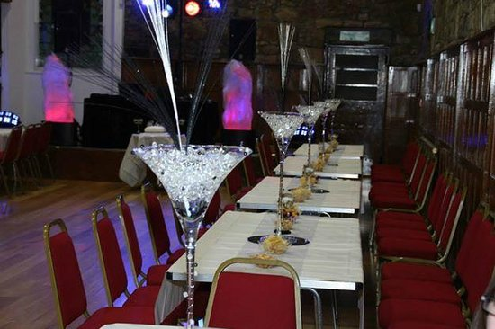Kilsyth, UK: Table Set up