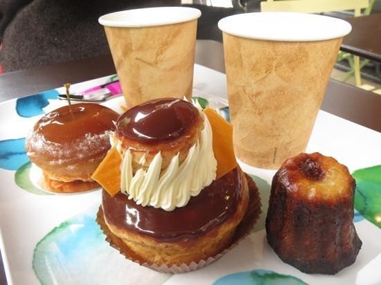 delicous treats at Ble Sucre