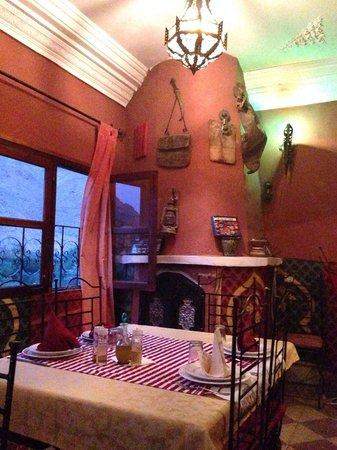 Dar Ayour : Restaurant area