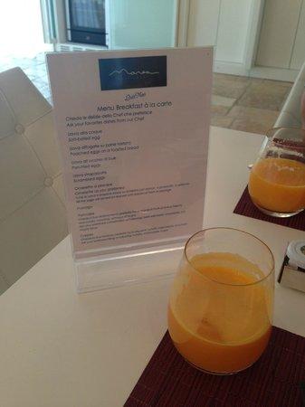 Melia Villa Capri Hotel & Spa: Delicious breakfast, freshly prepared