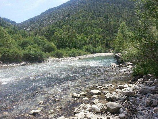 Camping Sandaya le Domaine du Verdon : Le long du camping