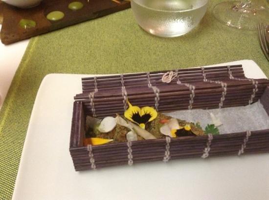 Kiaora Biococina: one of the tasting plates