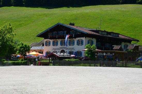 Alpenhof Hintersee: Das Haus