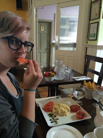 Keogh's of Kinvara Bar & Restaurant : Alix loved the smoked salmon