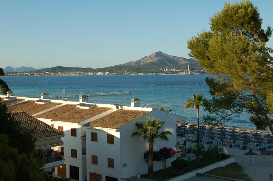 IBEROSTAR Alcudia Park: View from our room on the side street.