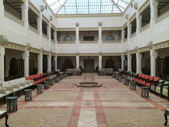 Sakaka, Saudi Arabia: Courtyard