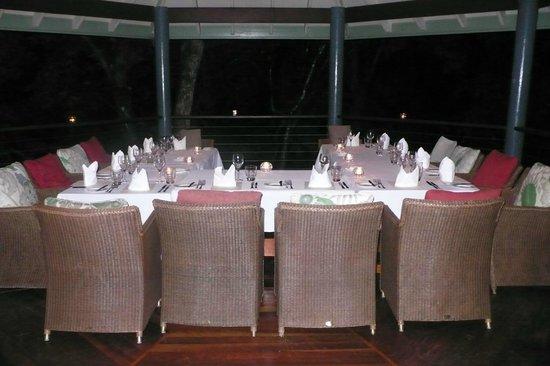 Silky Oaks Lodge: Liebevoll gedeckter Tisch