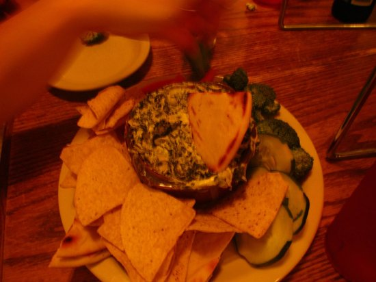 Blue Mountain Pizza and Brew Pub: spinach dip