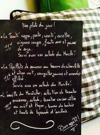 Georges Cafe : menus
