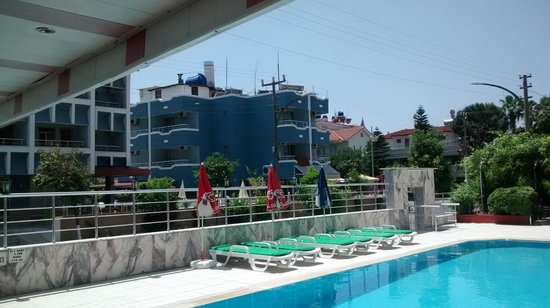 Soykan Hotel: pool view