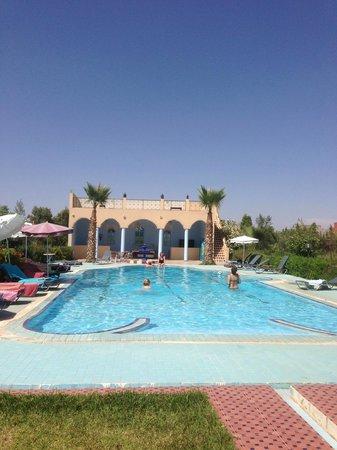 Riad Qodwa: Uitzicht vanuit onze kamer
