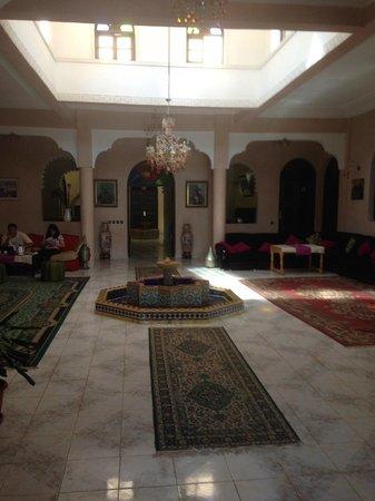Riad Qodwa: De lobby