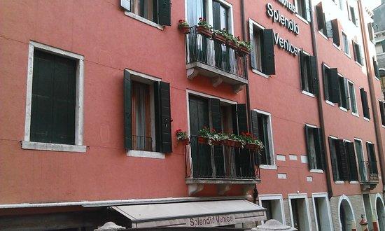 Starhotels Splendid Venice : Front of Hotel