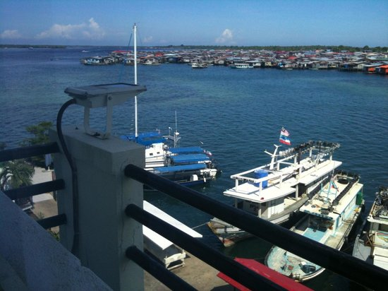 Seafest Hotel: View from the Superior Village room