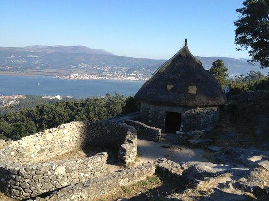 Poblado celta de Santa Tecla: A vista do entorno