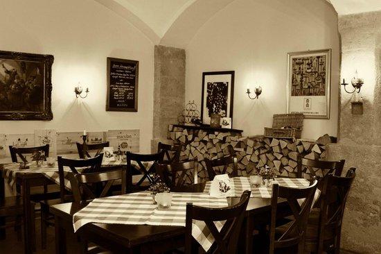 Toscanino: Eine Teilansich unseres Gewölbe