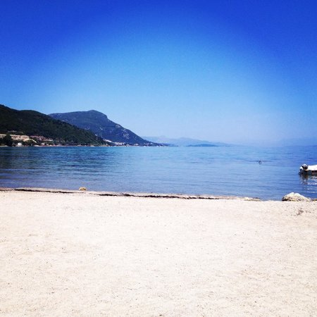 Messonghi Beach Resort : Beach area