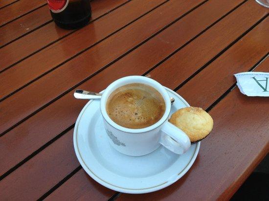 Parador de Baiona: Um bom café no meio da tarde