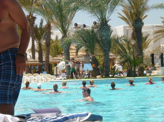 Fiesta Beach Club Djerba : aquagym