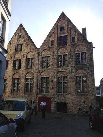 Hotel Ter Brughe: Hotel facade