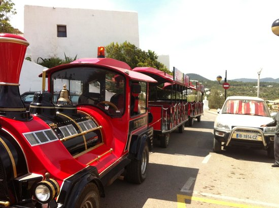 Ibiza Express Santa Eularia : The funny man train