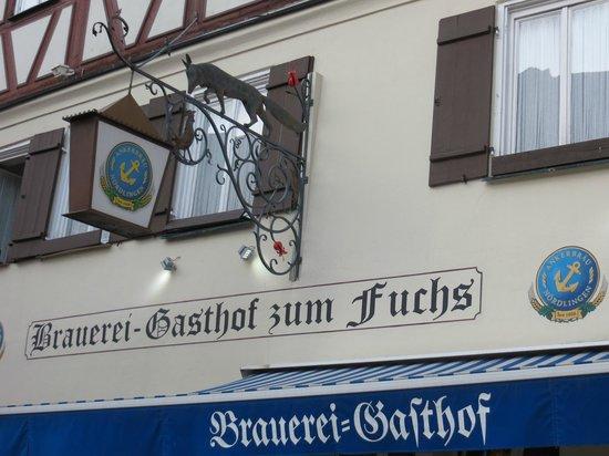 Gasthof zum Fuchs: Aussenansicht