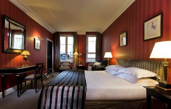 Hotel Villa d'Estrees: Suite deluxe