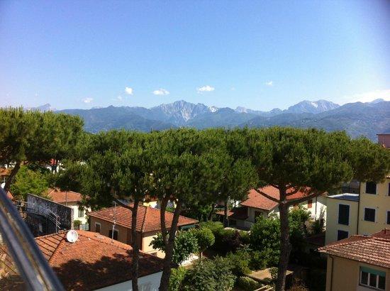 Hotel San Siro : view from sun terrace